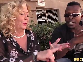 Busty Cougar Karen Summer Tastes Black Cock